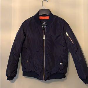 Beverly Hills Polo Club Boys Black chopper jacket